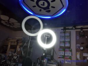 Кольцевая лампа 260 мм