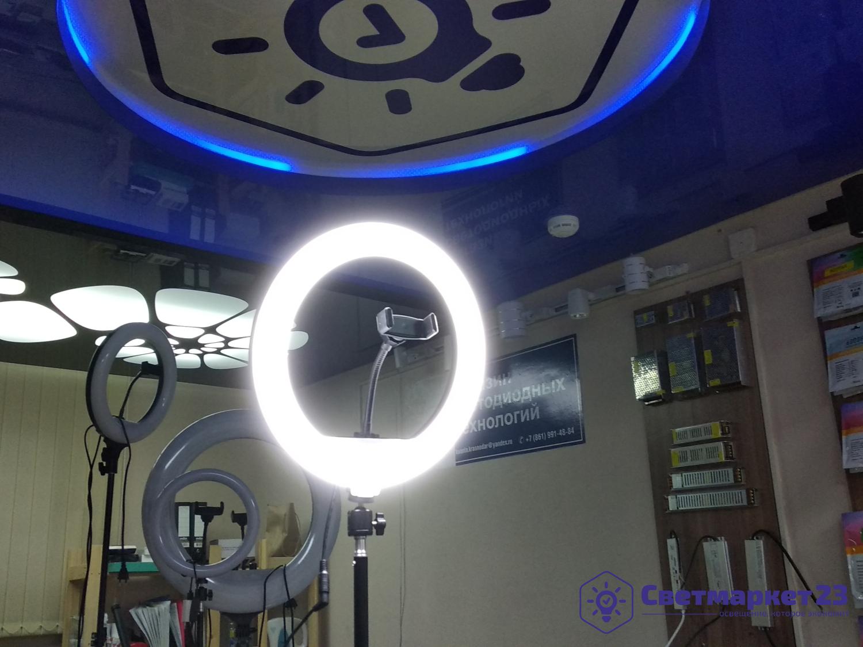 Кольцевая лампа DC LED 300 мм