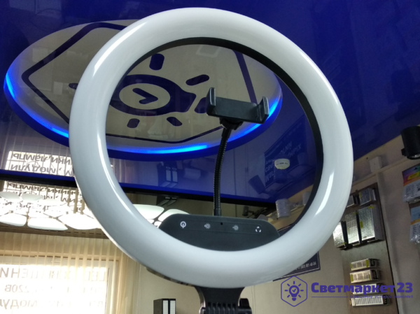 Кольцевая лампа DC LED 360 мм
