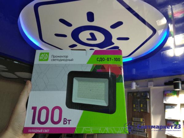 Светодиодный прожектор 100вт 6500К